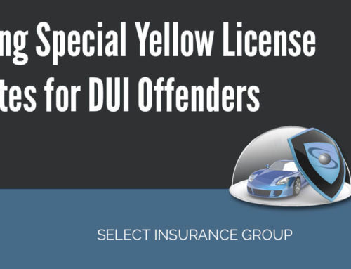 Using Special Colored License Plates for DUI Offenders